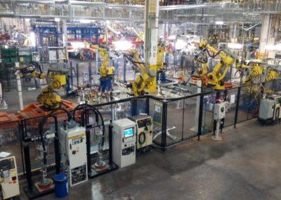 Estacion Soldadura Montaje Robots e instalaciones