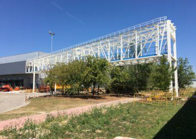 Montaje estructura y EMS en Mercedes Vitoria